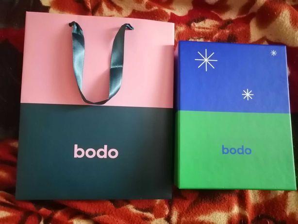 Коробочка и подарочный пакет от бодо (bodo)
