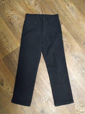 чёрные утеплённые брюки Vip Bonis на флизе для мальчика