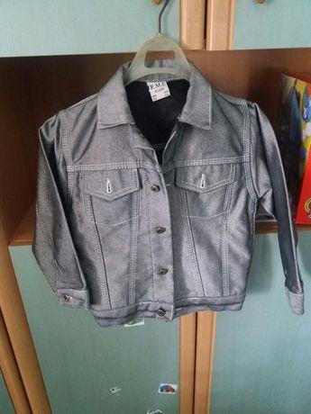 Kurtka jeans 116