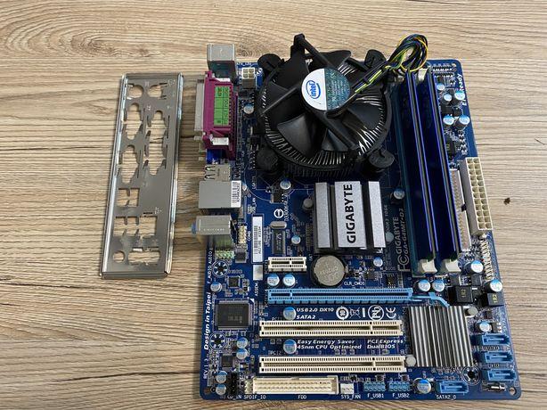 Комплект Gigabyte G41MT-D3 + intel pentium E6700 (775)  + 4gb DDR3