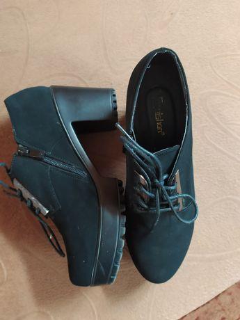 Туфли женские 41 размер замшевые