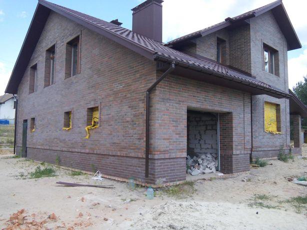 Бригада. Строительство дома. Кладка кирпича, газоблока, плиты, фбс