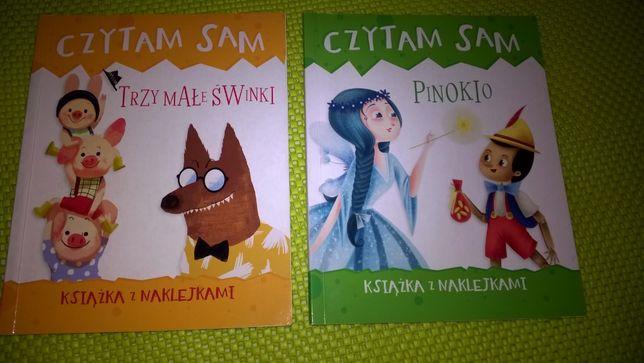 Czytam sam Trzy małe świnki , Pinokio
