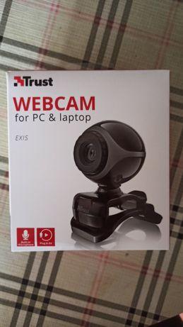 Webcam Trust praticamente nova
