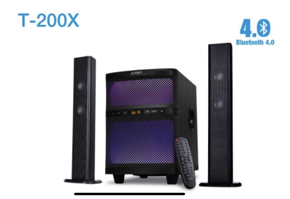 Акустика 2.1 F&D T-200X Bluetooth USB Саундбар Саб Колонки Днепр - изображение 1