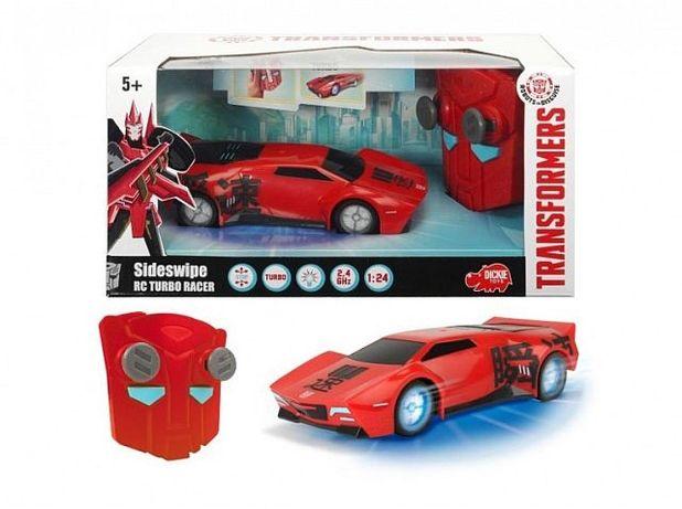 Transformers auto rc turbo racer sideswipe dickie