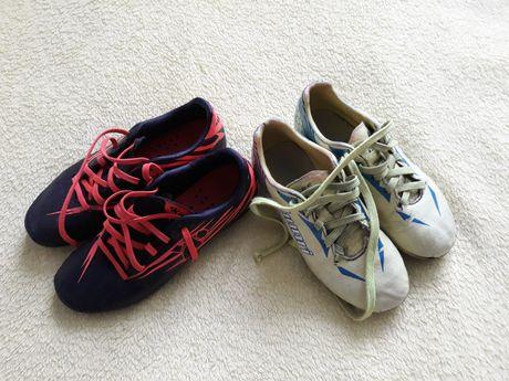 Korki buty do piłki KIPSTA i HUARI rozm 28-29