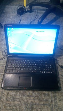 Ноутбук ASUS k50c есть второй на запчасти