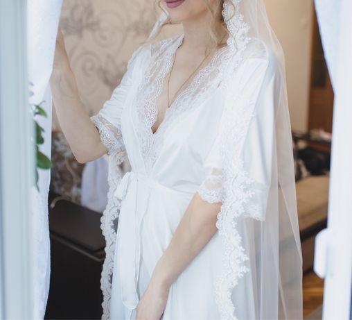 Весільний халатик