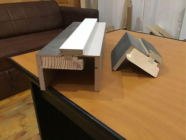 Дверная коробка трехслойная