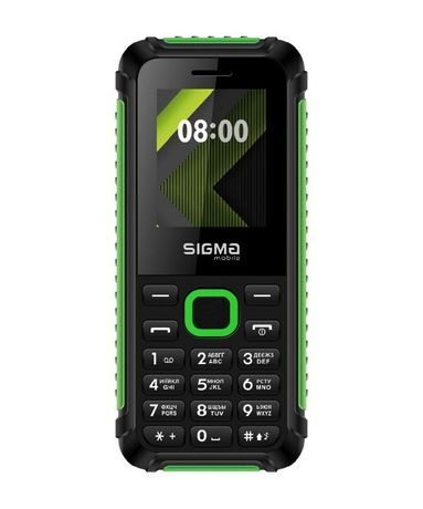 Телефон громкий бабушкофон кнопочный простой на 2 сим карты Сигма Трэк