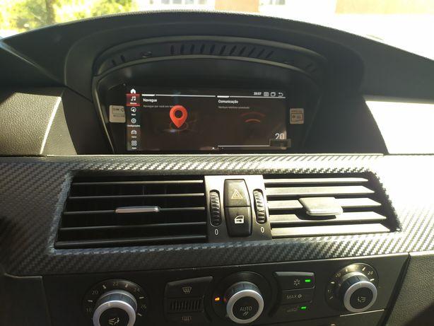 Multimédia Android 4+64 BMW E60 E61 E90 E91 GPS Bluetooth USB CCC CIC
