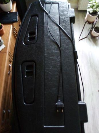 Pokrywa czarna i akwarium profilowane 80x35