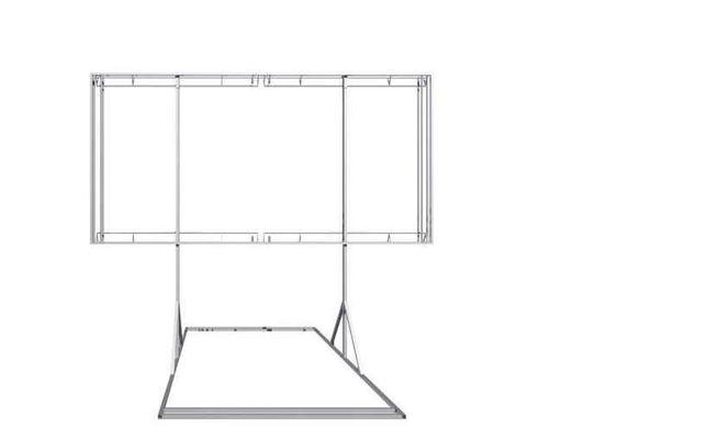 Tablica reklamowa MOBILNA spawanie konstrukcji reklamowych 6x3bilbord