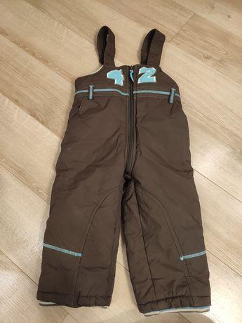 Ocieplacze spodnie narciarskie chłopięce