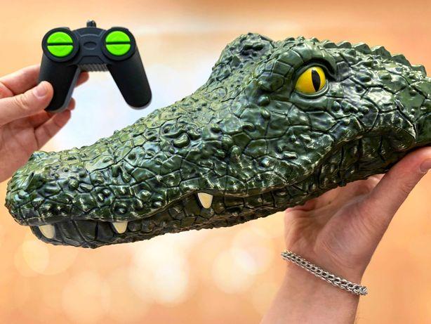 Крокодил с пультом для розыгрышей