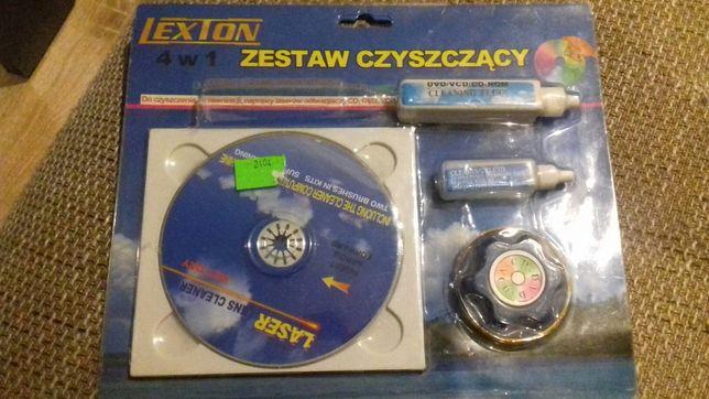 Zestaw czyszczacy cd/dvd/cd-rom