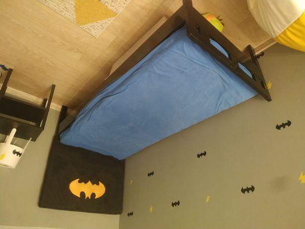 Łóżko i materac dla dziecka IKEA 160x80 Batman