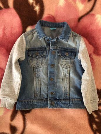 Джинсовая курточка для мальчиков