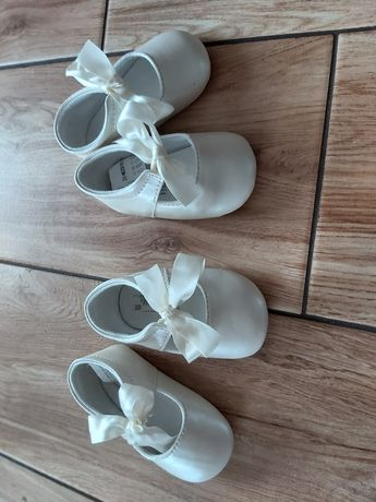 Buciki MAYORAL   dla bliźniaczek  niechodki rozmiar 18