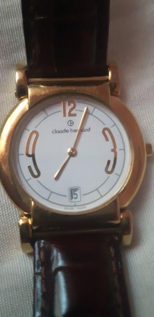 Годинник часы швейцарские Cloude Bernard slim. Swiss made