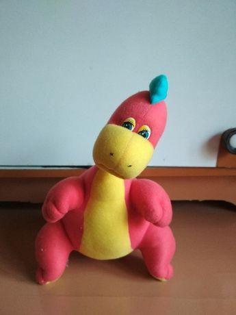 игрушка динозавр, мягкая, прекрасное состояние