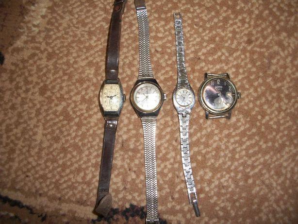 советские наручные часы