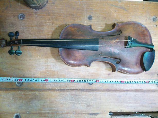 Мастеровая скрипка, 18-й век, Johann Kriftian Ficker.
