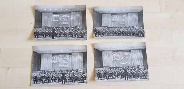 Zdjęcia PRL wojsko orkiestra, Nasze jutro zaczyna się dzisiaj 4 szt.