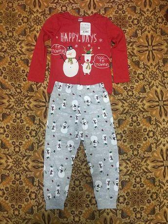 Комплект: кофта + штаны (пижама)
