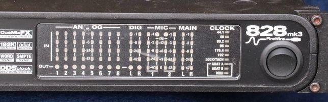 MOTU 828 mk3 - interfejs audio i mikser cyfrowy