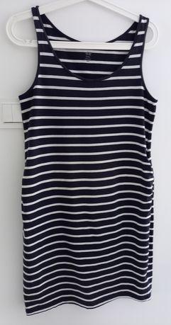 Sukienka ciążowa w paski H&M mama M