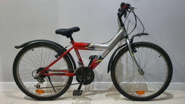 "Rower Grand 24"" dobry stan"