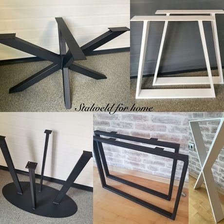 Nogi do stołów stolików, stołów, biurek industrialne loft