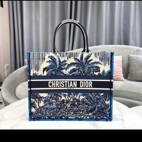 Torba shopper christian dior palms