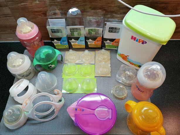 Wielka Paka dla niemowlaka Avent, zestaw do karmienia antykolkowy