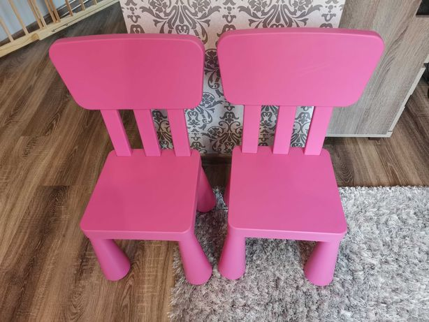 Krzesełka Mamut ikea