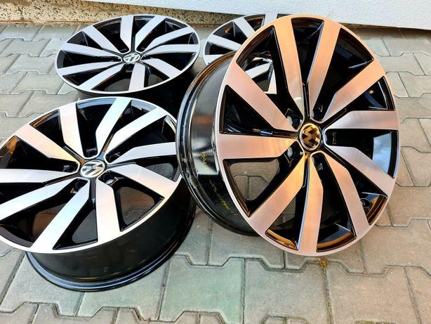 Oryginalne felgi VW 18 Passat Sharan Golf Arteon Bicolor Jak nowe