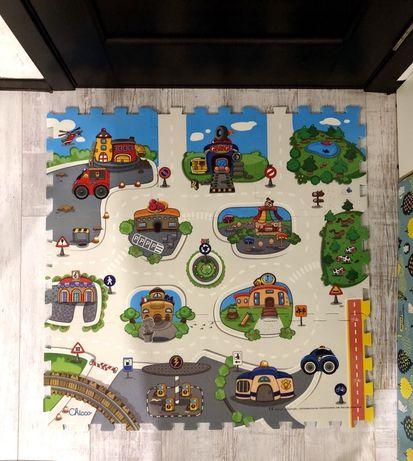 Продам коврик-пазл Chicco «Город»