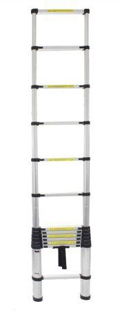 Escada Extensível Alumínio - 3.80 Metros 12 Degraus