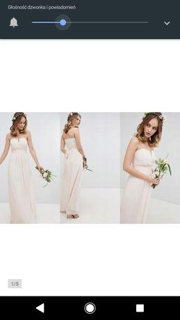 Suknia ślubna suknia wieczorowa r.34 xs