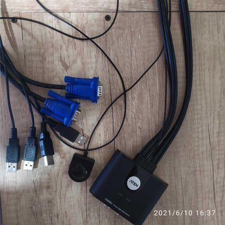 Kvm switch на 2 монитора