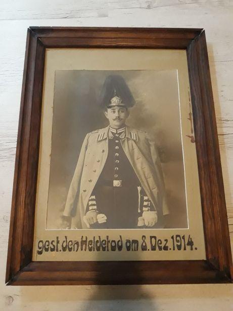 Żołnierz pruski portret