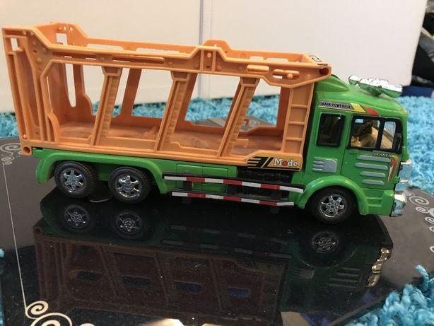 #8 Машинка фура Scania, Скания, автовоз, детский мир, тягач с прицепом