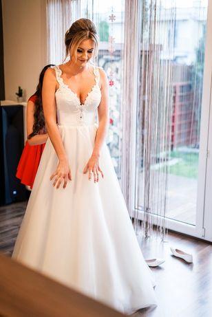 Suknie ślubna r.36