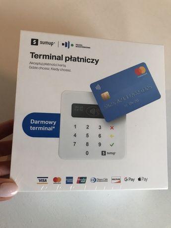 Terminal płatniczy SumUp zbliżeniowy nowy folia