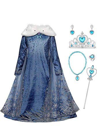 Vestido Princesa do Gelo