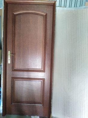 Drzwi wewnętrzne drewniane z futryną