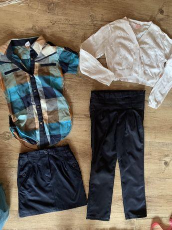 Брючки/юбка/рубашка-футболка/болеро, 128-134 р