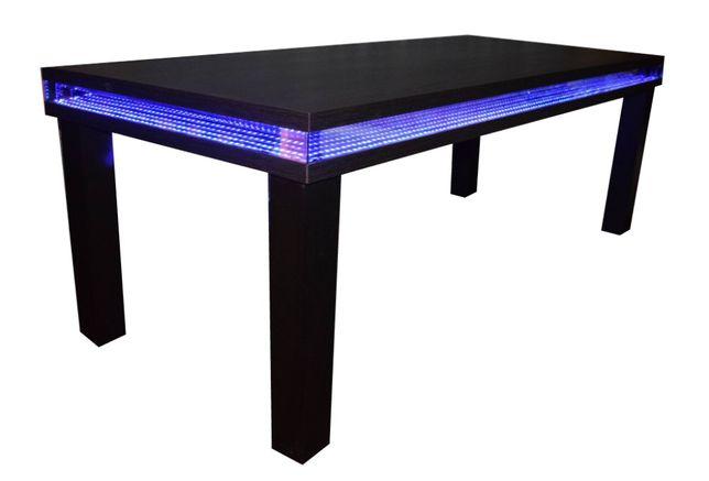 Nowoczesny stół podświetlany 3D 220 x 95 x 79 cm